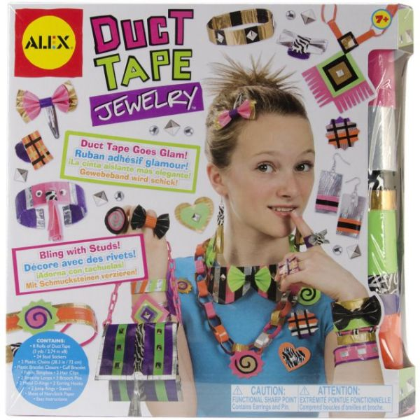 ALEX Toys Do-It-Yourself Duct Tape Jewelry Kit