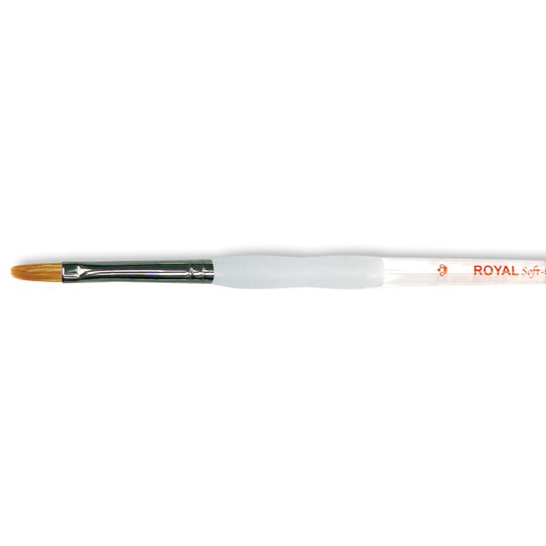 Soft-Grip Combo Filbert Brush
