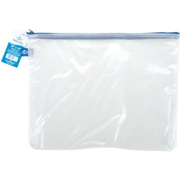 Mesh Storage Bag W/Zipper