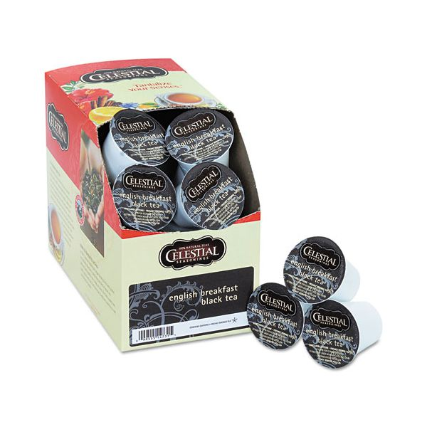 Celestial Seasonings English Breakfast Black Tea K-Cups