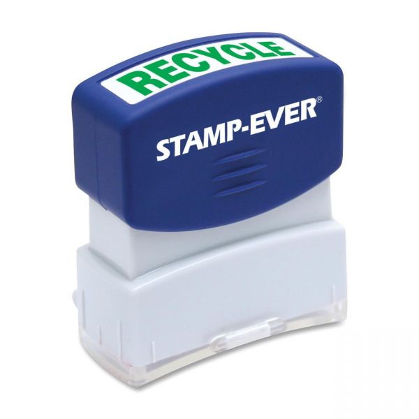 Stamp-Ever Pre-inked Recycled Stamp