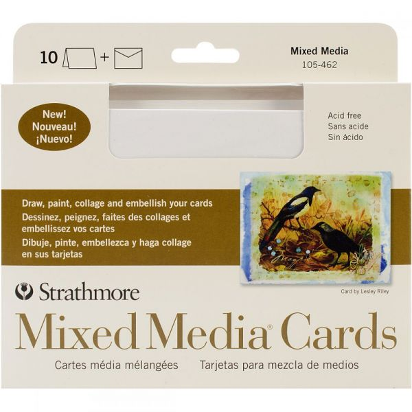 "Strathmore Cards & Envelopes 5""X6.875"" 10/Pkg"