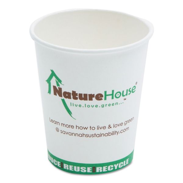 Nature House 8 oz Paper Coffee Cups