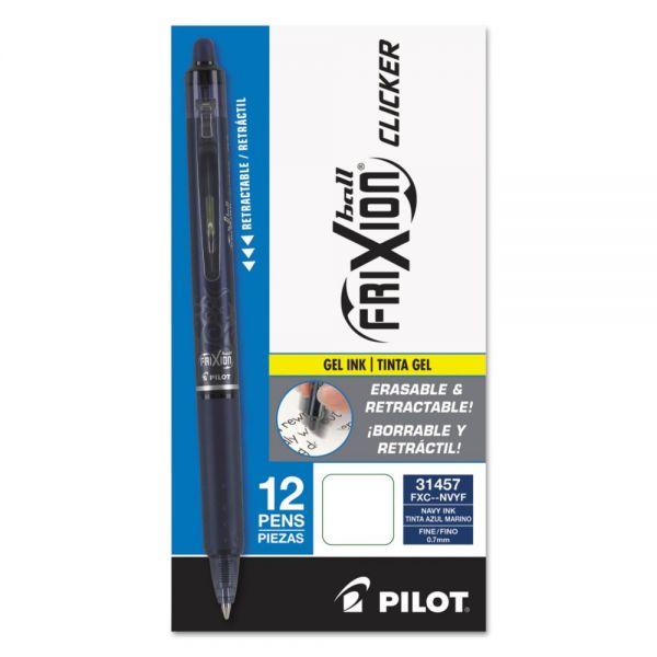 FriXion Clicker Erasable Gel Pens