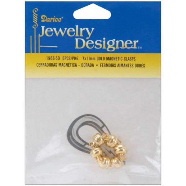 Magnetic Clasps 7mmX11mm 3/Pkg