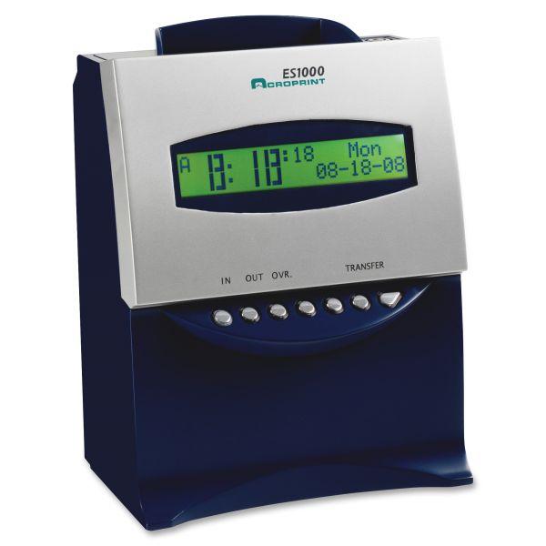 Acroprint ES1000 Time Clock & Recorder