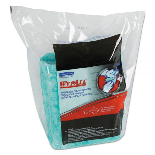 WypAll Waterless Cleaning Wipes Refill Bags