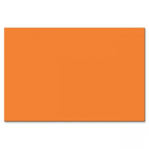 Peacock Sulphite Orange Construction Paper