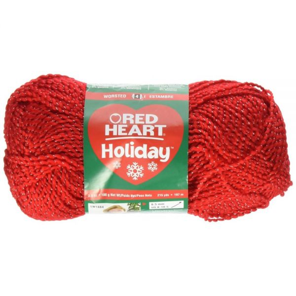 Red Heart Holiday Yarn