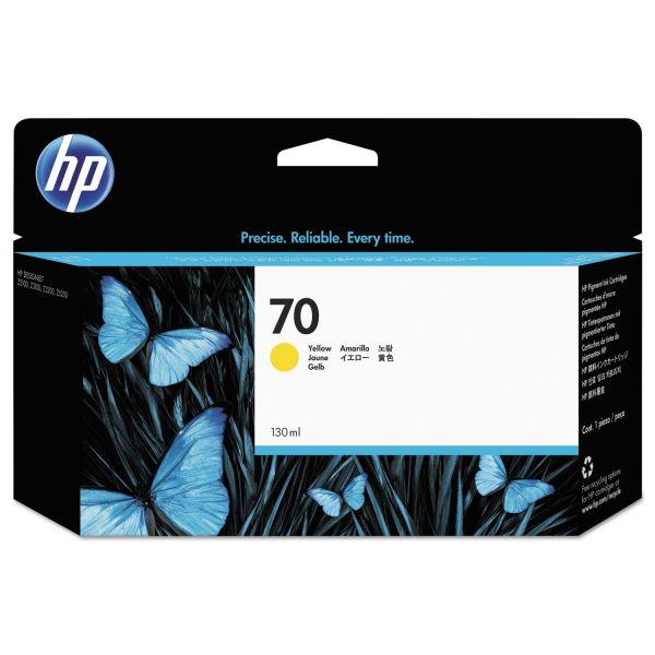 HP 70 Yellow Ink Cartridge (C9454A)