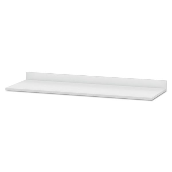 HON Hospitality Cabinet Modular Countertop, 72w x 25d x 4-3/4h, Brilliant White