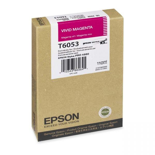 Epson T605B Magenta Ink Cartridge