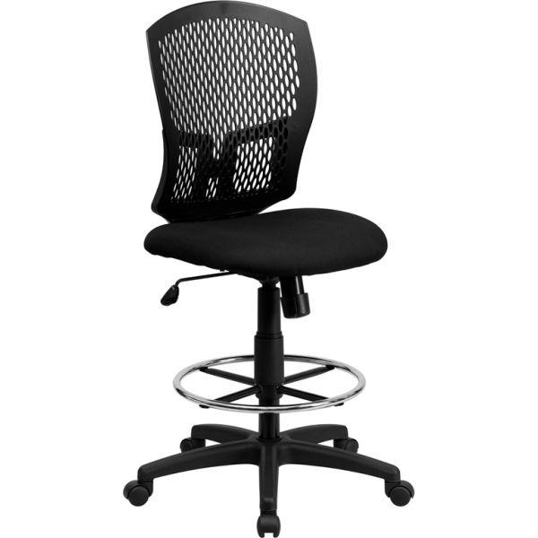 Flash Furniture Mid-Back Designer Back Drafting Chair