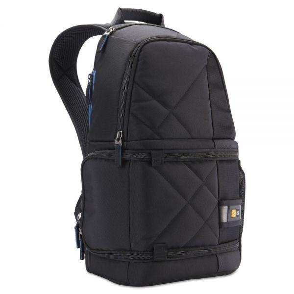 Case Logic DSLR Camera and Tablet Backpack, 7/12 x 9 1/4 x 17 3/8, Black