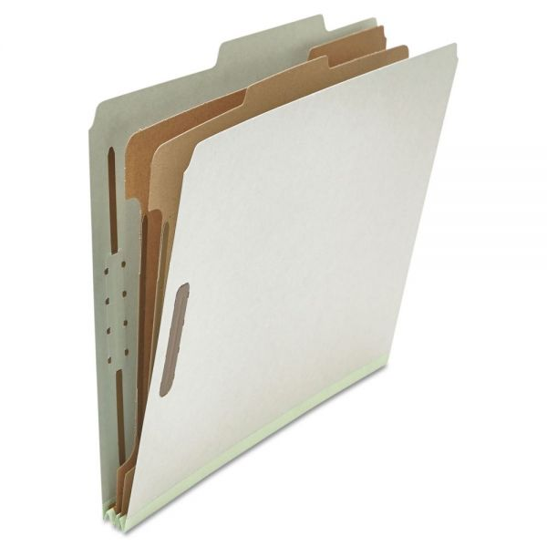 Universal 2-Divider Pressboard Classification Folders