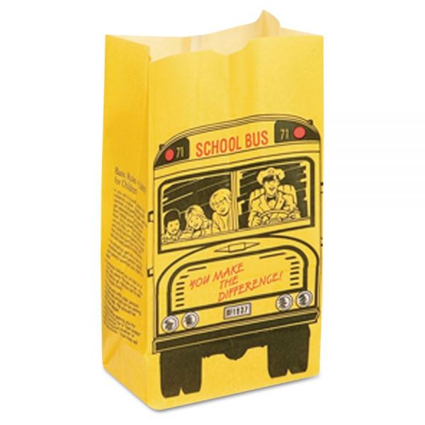 Bagcraft Papercon Dubl Wax SOS Bakery Bags