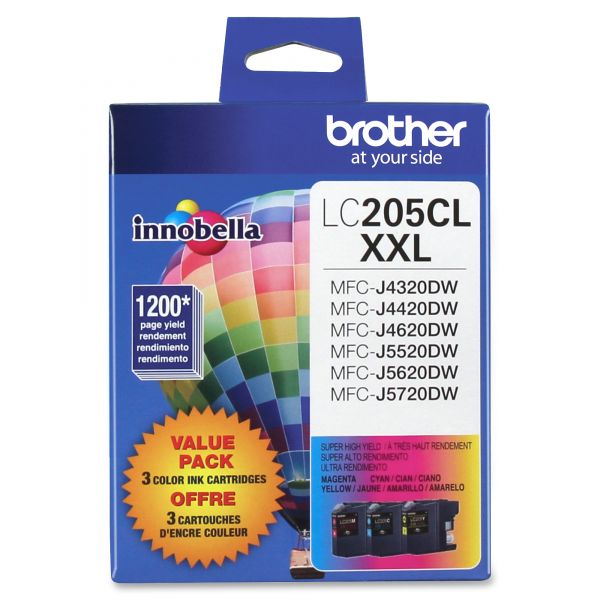 Brother Innobella Super High Yield LC2053PKS XXL Ink Cartridges