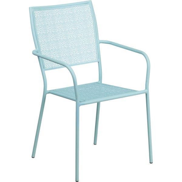 Flash Furniture Indoor-Outdoor Patio Arm Chair