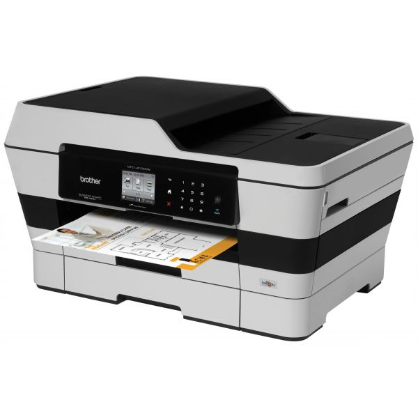 Brother MFC-J6720DW Inkjet Multifunction Printer - Color - Plain Paper Print - Desktop