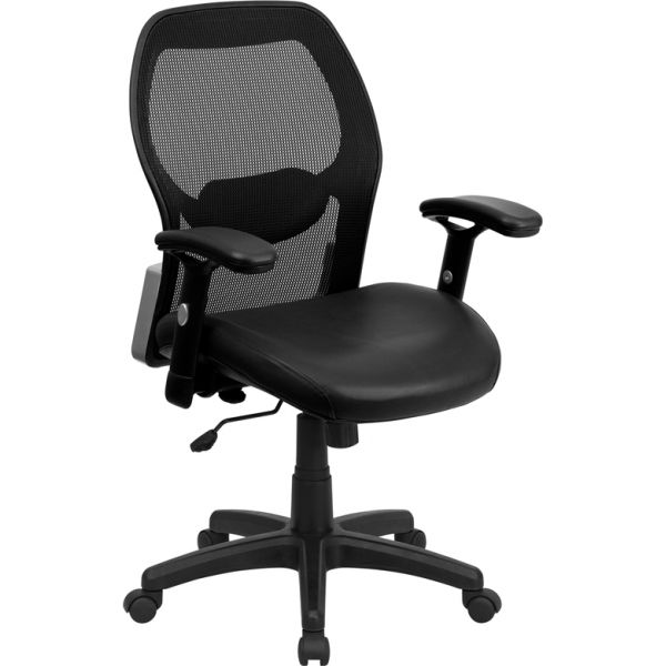 Flash Furniture Mid-Back Super Mesh Executive Office Chair