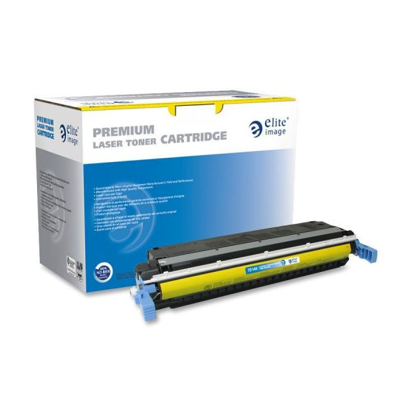 Elite Image Remanufactured HP 645A (C9732A) Toner Cartridge