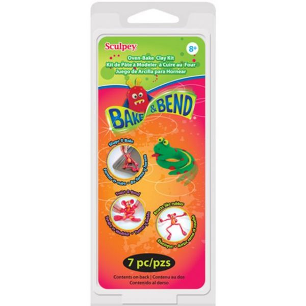 Sculpey Clay Bake & Bend Activity Kit