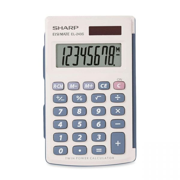 Sharp Calculators Sharp EL243SB Handheld Calculator