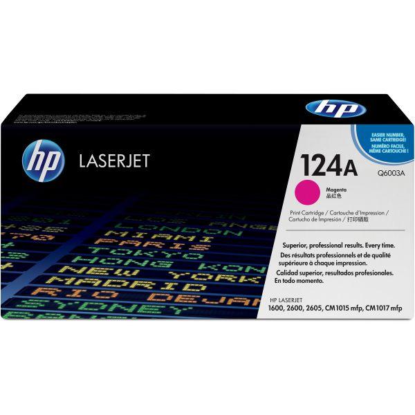 HP 124A Magenta Toner Cartridge (Q6003A)