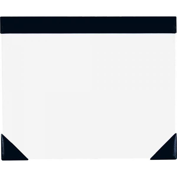 House of Doolittle Executive Doodle Desk Pad, 25-Sheet White Pad, Refillable, 22 x 17, Black