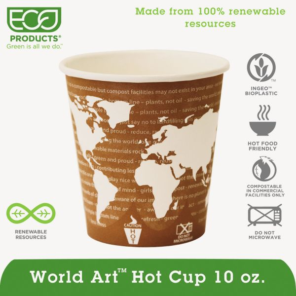 Eco-Products 10 oz Paper Coffee Cups