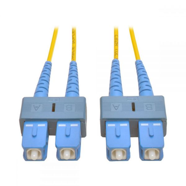 Tripp Lite 2M Duplex Singlemode 8.3/125 Fiber Optic Patch Cable SC/SC 6' 6ft 2 Meter