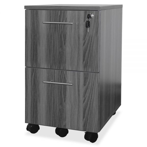 Mayline 2-Drawer Mobile File Cabinet