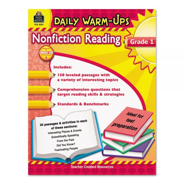 Teacher Created Resources Daily Warm-ups: Nonfiction Reading
