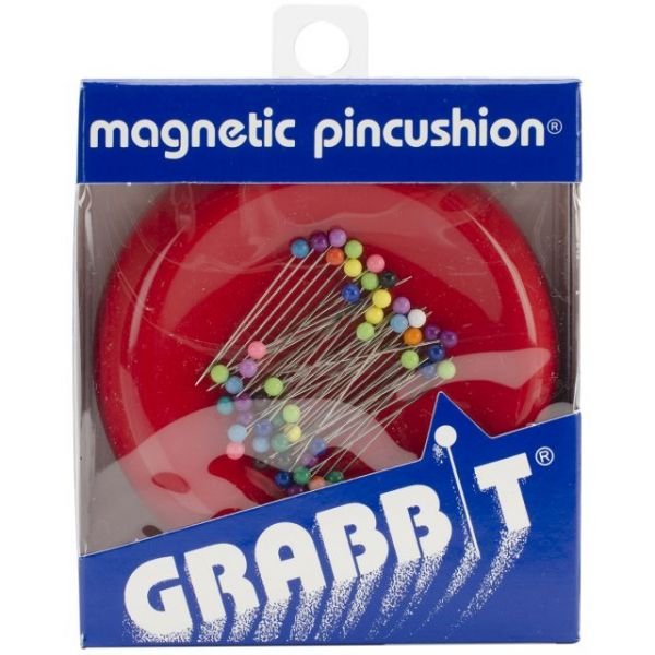 Grabbit Magnetic Pincushion W/50 Pins