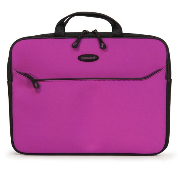 "Mobile Edge SlipSuit Carrying Case (Sleeve) for 13.3"" Notebook, MacBook, MacBook Pro - Purple, Black"
