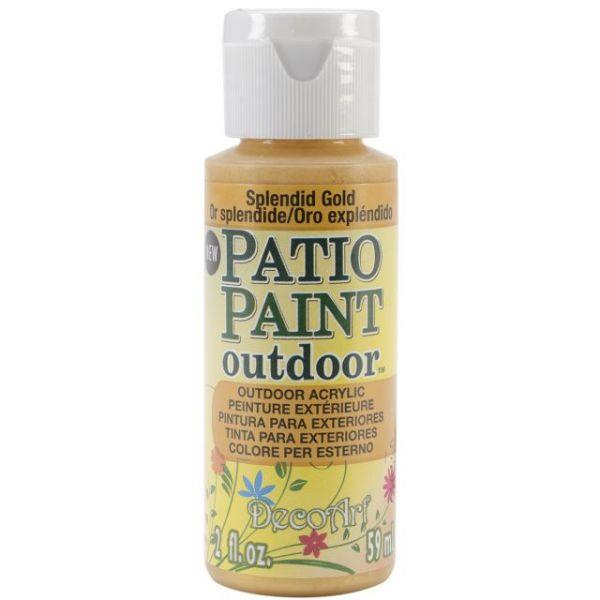 Deco Art Splendid Gold Patio Paint