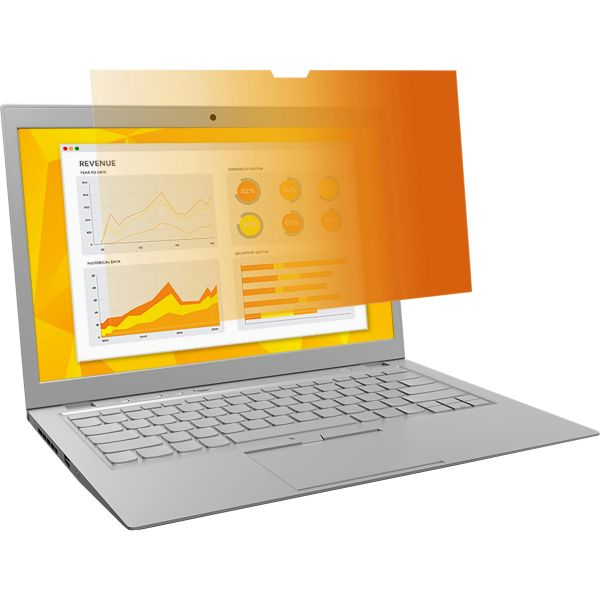 "3M GPF10.1W Gold Privacy Filter for Widescreen Laptop 10.1"" Gold"