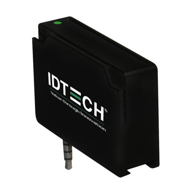 ID TECH UniPay Mobile Audio Jack MagStripe and EMV Smart Card Reader