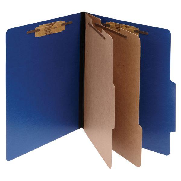 Acco ColorLife 2-Divider PRESSTEX Classification Folders