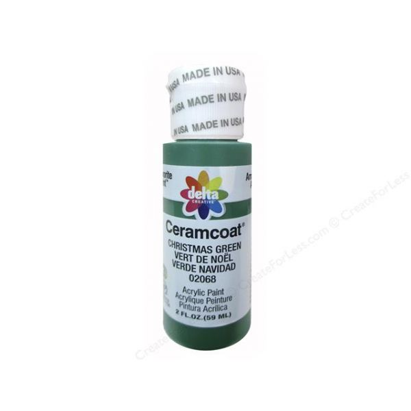 Ceramcoat Christmas Green Acrylic Paint