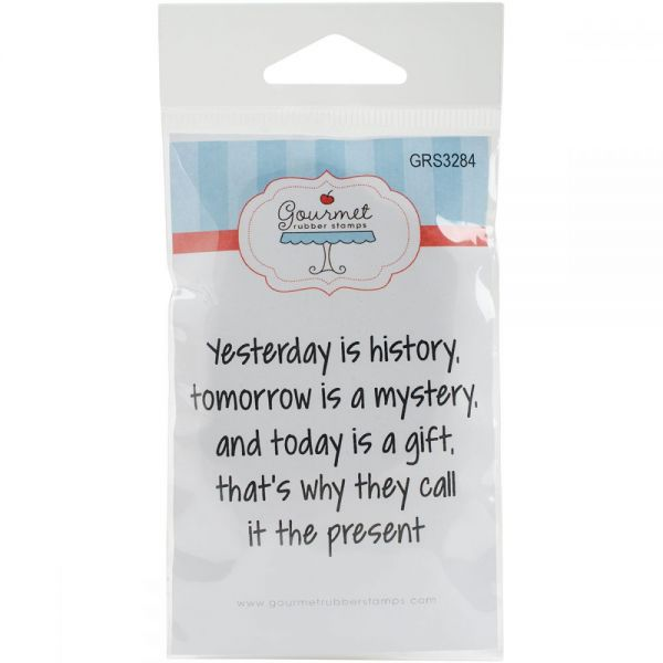 """Gourmet Rubber Stamps Cling Stamps 2.75""""X4.75"""""""