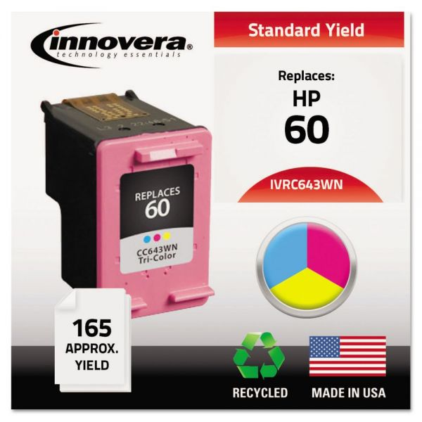 Innovera Remanufactured HP 60 Ink Cartridge