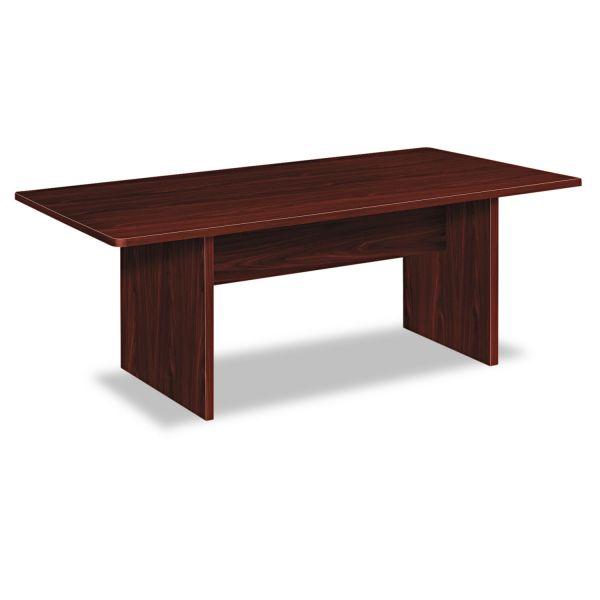 HON BL Laminate Series Rectangular Conference Table, 72w x 36d x 29 1/2h, Mahogany