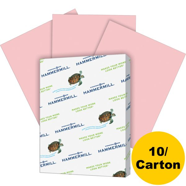 Hammermill Recycled Colored Paper - Pink