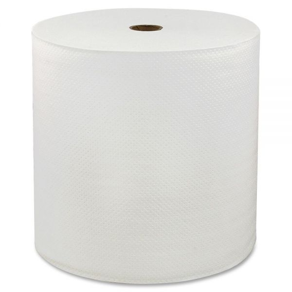 Genuine Joe Hardwound Paper Towel Rolls