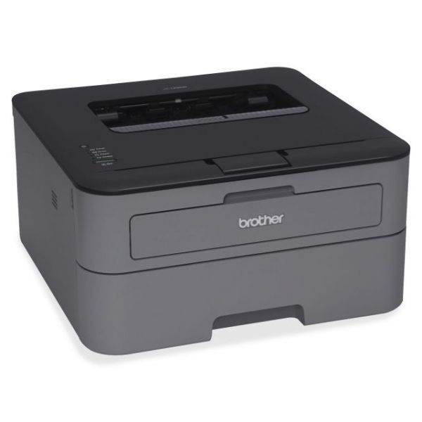 Brother HL-L2300D Laser Printer - Monochrome - 2400 x 600 dpi Print - Plain Paper Print - Desktop