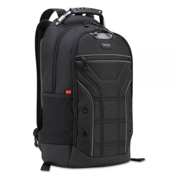 Targus Drifter Sport Backpack, 6 x 10 1/2 x 17 1/4, Black