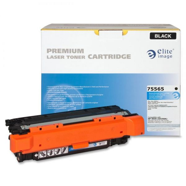 Elite Image Remanufactured HP CE250A Toner Cartridge
