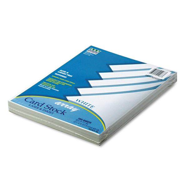 Pacon Array Printable White Card Stock