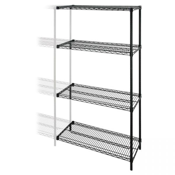 Lorell Wire Shelving Add-on Unit